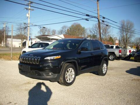 2016 Jeep Cherokee for sale at Wares Auto Sales in Clay City KY