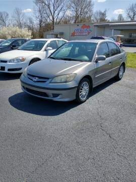 2005 Honda Civic for sale at McCully's Automotive in Benton KY