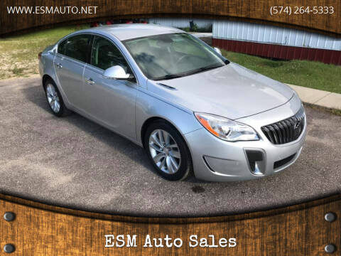 2014 Buick Regal for sale at ESM Auto Sales in Elkhart IN