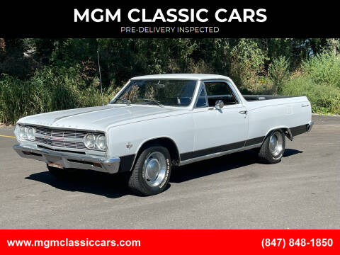 1965 Chevrolet El Camino for sale at MGM CLASSIC CARS-New Arrivals in Addison IL