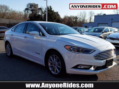 2017 Ford Fusion Hybrid for sale at ANYONERIDES.COM in Kingsville MD