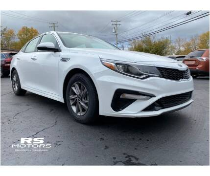 2020 Kia Optima for sale at RS Motors in Falconer NY