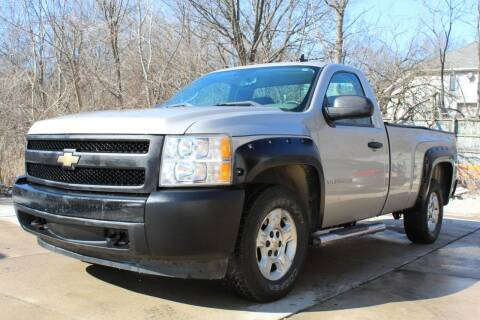 2007 Chevrolet Silverado 1500 for sale at CHIPPERS LUXURY AUTO, INC in Shorewood IL