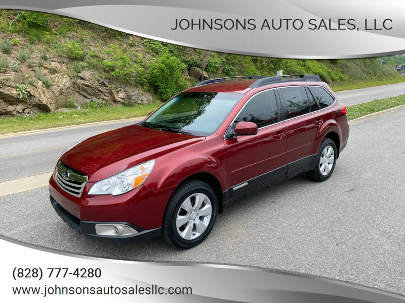 2012 Subaru Outback for sale at Johnsons Auto Sales, LLC in Marshall NC