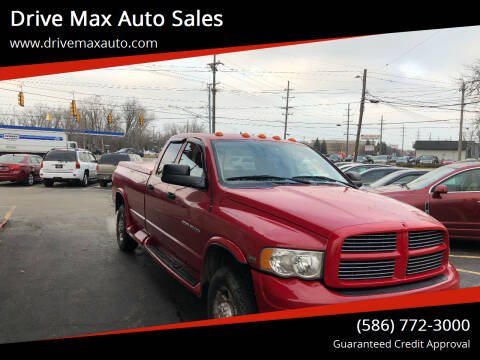 2003 Dodge Ram Pickup 2500 for sale at Drive Max Auto Sales in Warren MI
