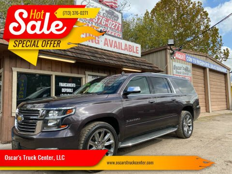 2015 Chevrolet Suburban for sale at Oscar's Truck Center, LLC in Houston TX