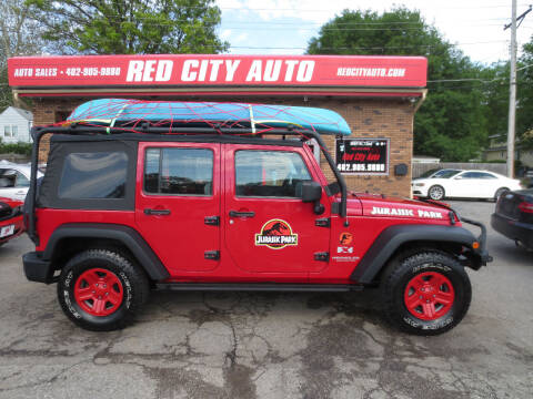 2007 Jeep Wrangler Unlimited for sale at Red City  Auto in Omaha NE
