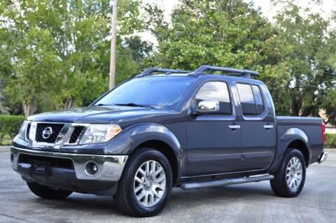 2012 Nissan Frontier for sale at Vision Motors, Inc. in Winter Garden FL