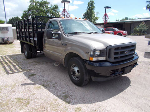 2004 Ford F-350 Super Duty for sale at MOTION TREND AUTO SALES in Tomball TX
