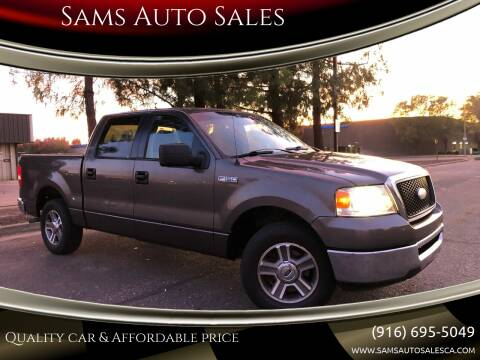 2007 Ford F-150 for sale at Sams Auto Sales in North Highlands CA