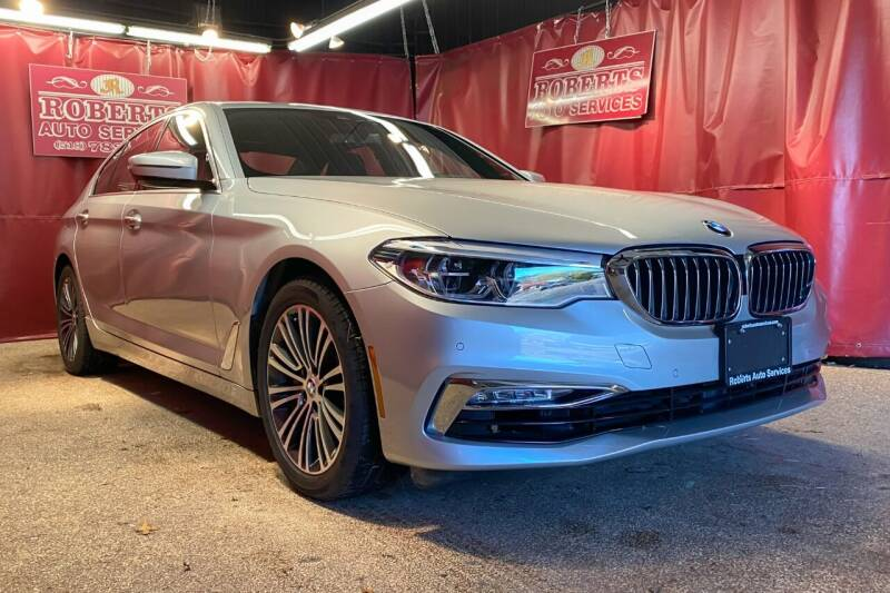 2018 BMW 5 Series for sale at Roberts Auto Services in Latham NY