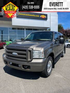 2005 Ford Excursion for sale at West Coast Auto Works in Edmonds WA