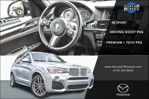 2017 BMW X3 for sale at Mazda Of Roswell in Roswell GA