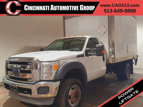 2012 Ford F-450 Super Duty for sale at Cincinnati Automotive Group in Lebanon OH