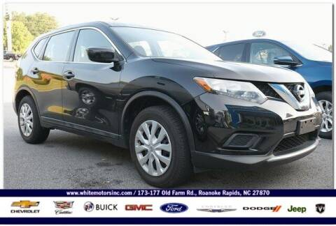 2016 Nissan Rogue for sale at WHITE MOTORS INC in Roanoke Rapids NC