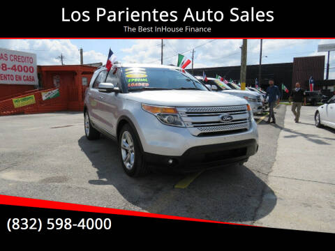 2014 Ford Explorer for sale at Los Parientes Auto Sales in Houston TX