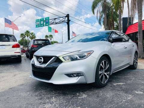 2016 Nissan Maxima for sale at Gtr Motors in Fort Lauderdale FL