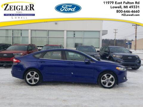 2013 Ford Fusion for sale at Zeigler Ford of Plainwell- Jeff Bishop in Plainwell MI