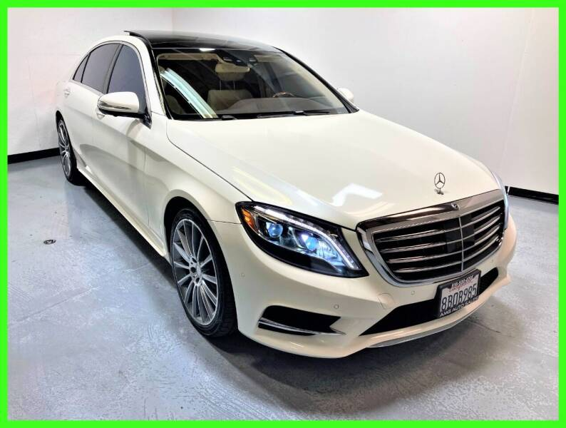 2017 Mercedes-Benz S-Class for sale at AMG Auto Sales in Rancho Cordova CA