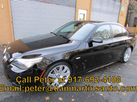 2010 BMW 5 Series for sale at Dan Martin's Auto Depot LTD in Yonkers NY