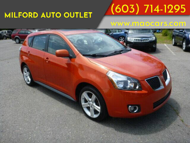 2010 Pontiac Vibe for sale at Milford Auto Outlet in Milford NH