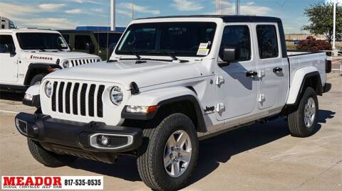 2021 Jeep Gladiator for sale at Meador Dodge Chrysler Jeep RAM in Fort Worth TX