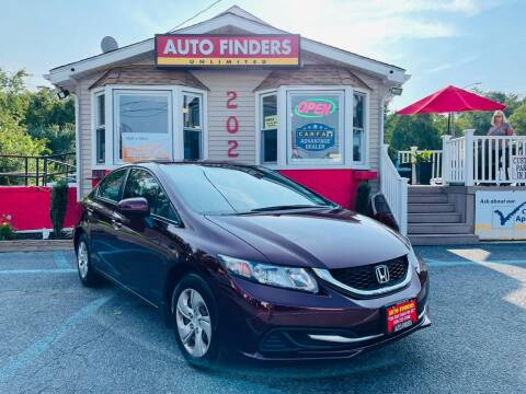 2015 Honda Civic for sale at Auto Finders Unlimited LLC in Vineland NJ