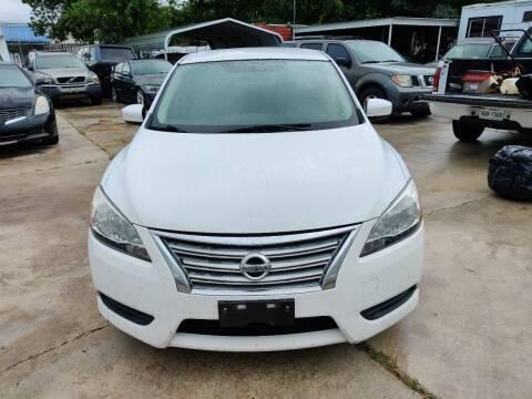 2015 Nissan Sentra for sale at Dubik Motor Company in San Antonio TX