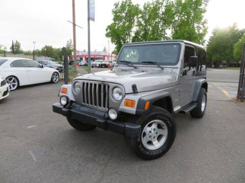 2002 Jeep Wrangler for sale at KAS Auto Sales in Sacramento CA