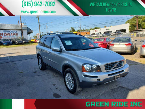 2008 Volvo XC90 for sale at Green Ride Inc in Nashville TN