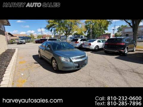 2009 Chevrolet Malibu for sale at Harvey Auto Sales, LLC. in Flint MI