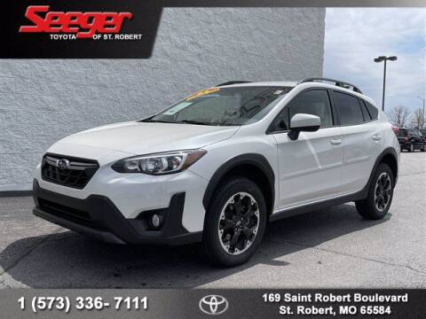 2021 Subaru Crosstrek for sale at SEEGER TOYOTA OF ST ROBERT in St Robert MO