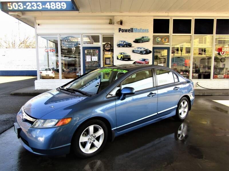 2006 Honda Civic for sale at Powell Motors Inc in Portland OR
