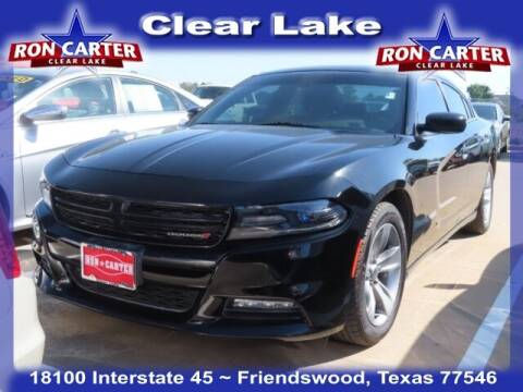 2017 Dodge Charger for sale at Ron Carter  Clear Lake Used Cars in Houston TX
