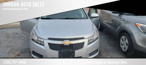 2012 Chevrolet Cruze for sale at JORDAN AUTO SALES in Youngstown OH