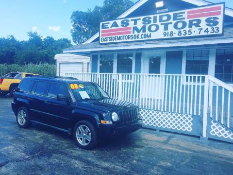 2008 Jeep Patriot for sale at EASTSIDE MOTORS in Tulsa OK
