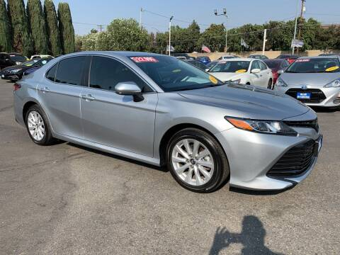 2019 Toyota Camry for sale at Blue Diamond Auto Sales in Ceres CA