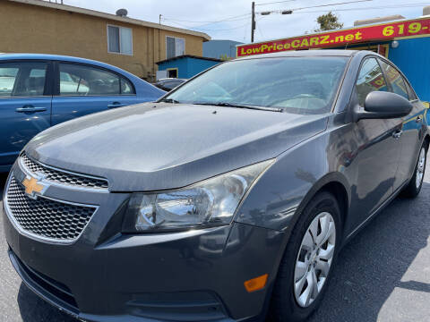2013 Chevrolet Cruze for sale at CARZ in San Diego CA