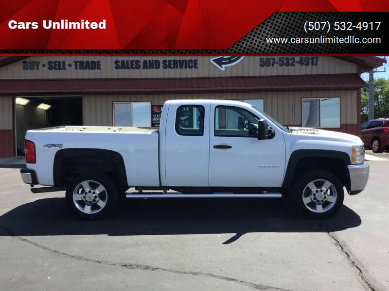 2011 Chevrolet Silverado 2500HD for sale at Cars Unlimited in Marshall MN
