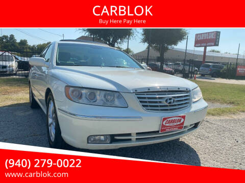 2006 Hyundai Azera for sale at CARBLOK in Lewisville TX
