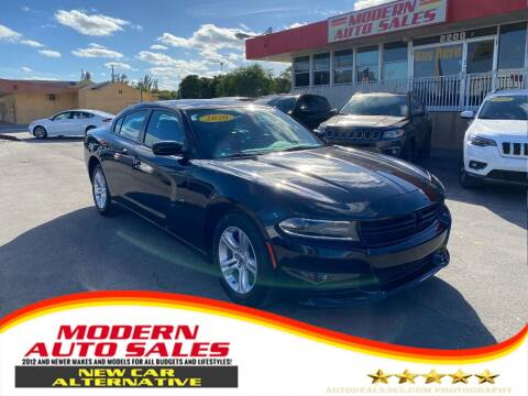 2020 Dodge Charger for sale at Modern Auto Sales in Hollywood FL