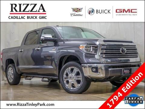 2018 Toyota Tundra for sale at Rizza Buick GMC Cadillac in Tinley Park IL