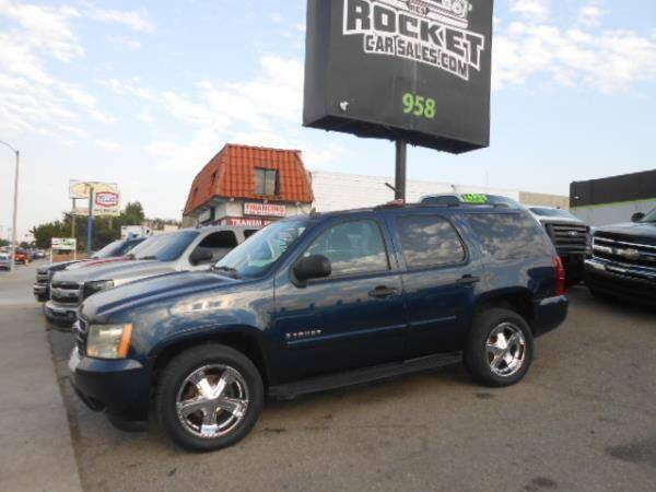 2007 Chevrolet Tahoe for sale at Rocket Car sales in Covina CA