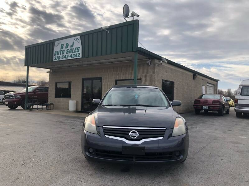 2008 Nissan Altima for sale at B & J Auto Sales in Auburn KY