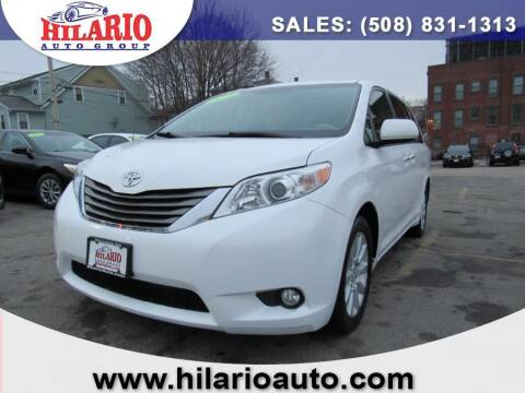 2014 Toyota Sienna for sale at Hilario's Auto Sales in Worcester MA