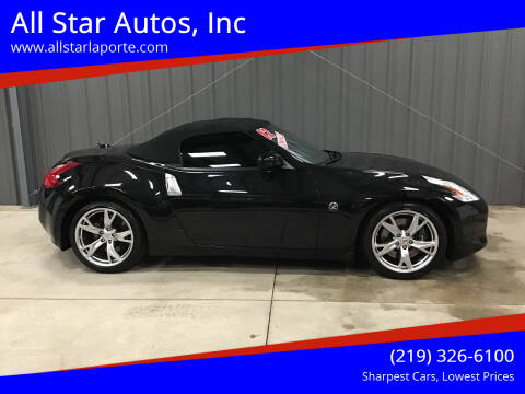 2012 Nissan 370Z for sale at All Star Autos, Inc in La Porte IN