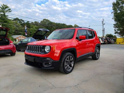 2017 Jeep Renegade for sale at DADA AUTO INC in Monroe NC