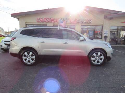 2016 Chevrolet Traverse for sale at Cardinal Motors in Fairfield OH