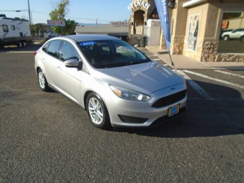 2015 Ford Focus for sale at Team D Auto Sales in Saint George UT