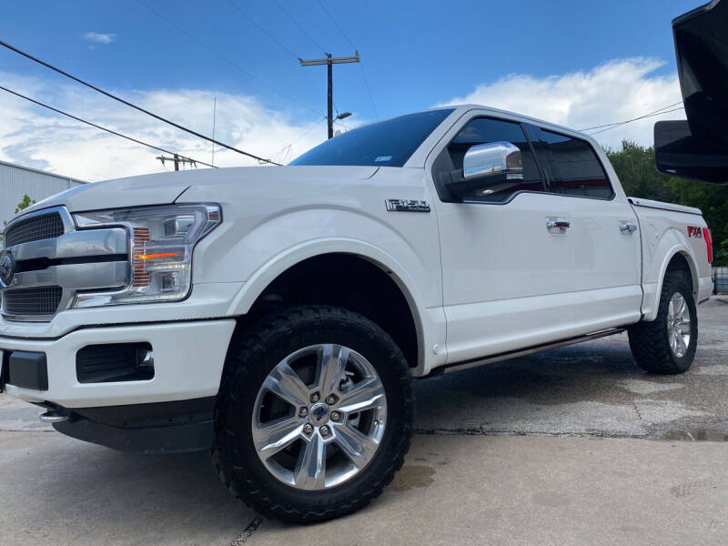 2020 Ford F-150 for sale at FAST LANE AUTO SALES in San Antonio TX